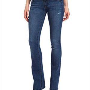 DL1961 Jeans Cindy Slim Boot Mariner Sz 26 Dark